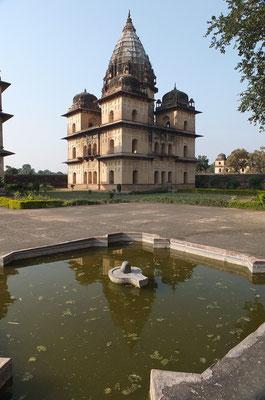 Chhatri's in Orchha