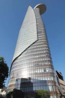 Bitexco Financial Tower, het op één na hoogste gebouw in Vietnam.