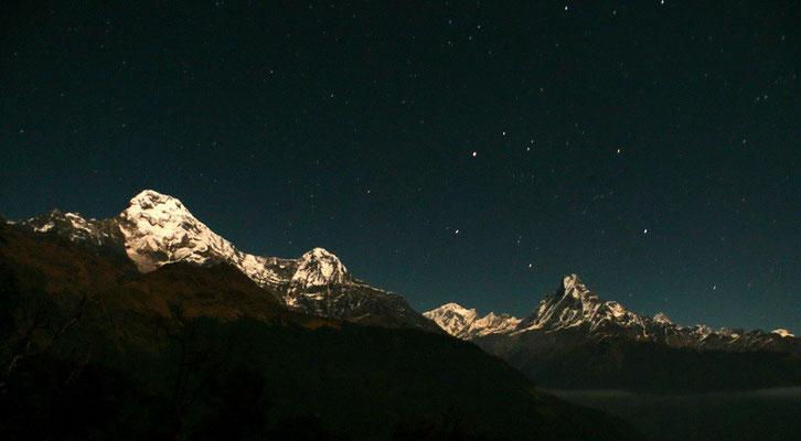 Himalaya nachtfoto.