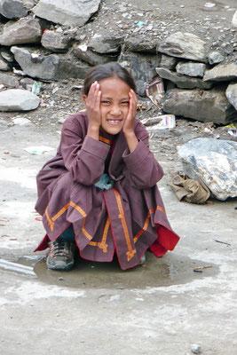 Meisje in Keylong