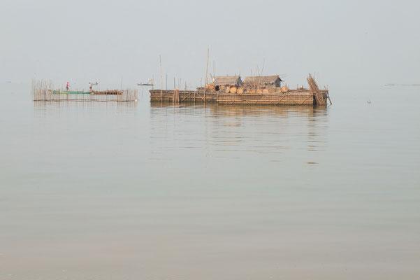 Op het Tonlé Sap meer