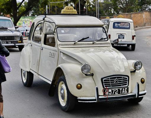 Deux chevaux taxi