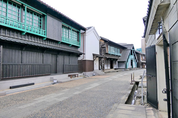 Het eiland Dejima in Nagasaki. Vroeger een Nederlandse handelspost.