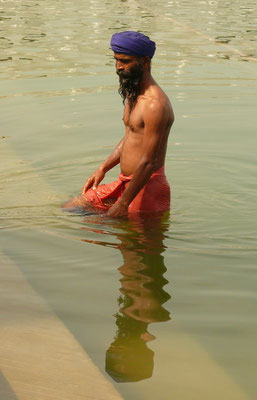 Badende sikh