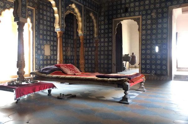 Slaapkamer in Jaisalmer fort
