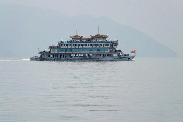 Cruise op het Erhai meer.