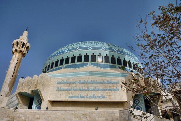 Koning Abdullah I moskee in Amman