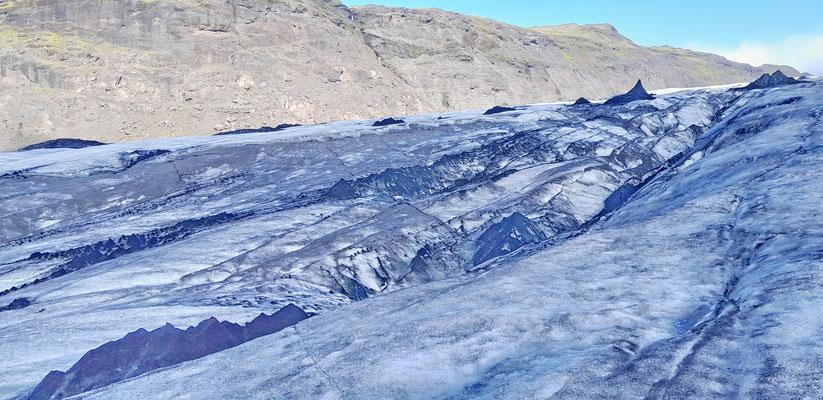 Solheimajokull gletsjer