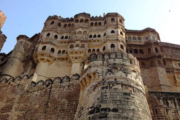 Het Mehrangarh fort in Jodhpur