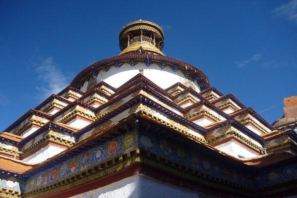 De Kumbum stupa in Gyantse