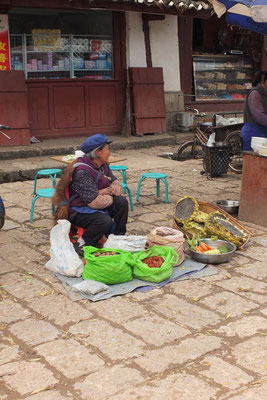 Naxi vrouw in Baisha