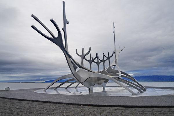 De Sun Voyager in Reykjavik
