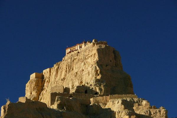 De Dzong van Tsaparang uit de 11de eeuw