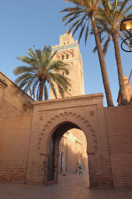 De Koutoubia moskee in Marrakech