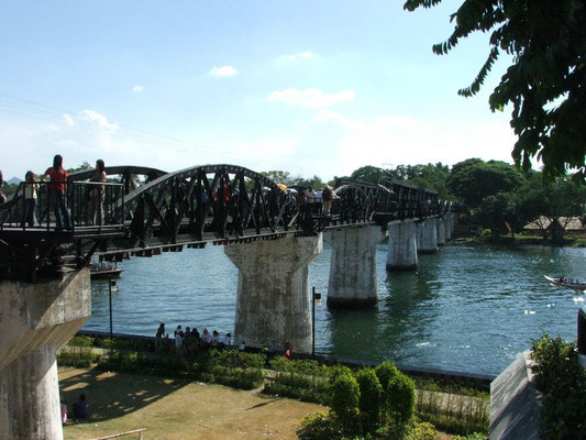 Bridge on the river Kwai (Kanchanaburi)