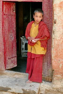 Monnik in Lamayuro