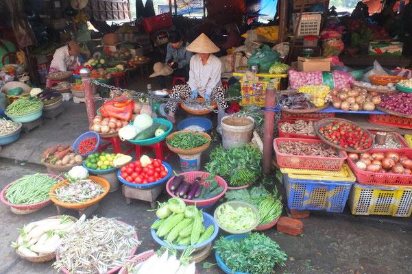 De markt van Hoi An