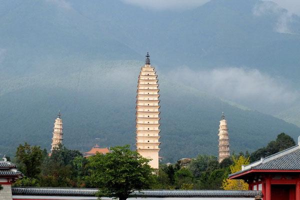 De pagoda's van Dali