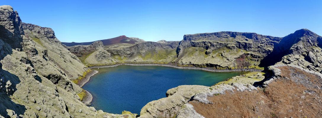 Tjarnargígur kratermeer