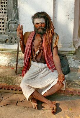 Sadhu bij Pashupatinath