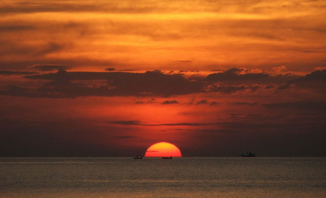 Zonsondergang op Koh Samet