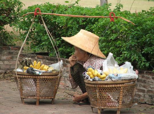 Bananen te koop