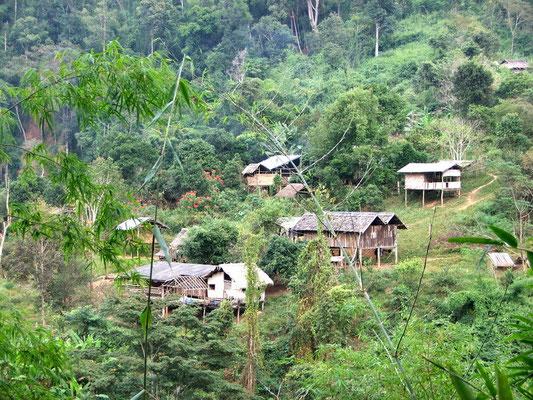 Hill tribe dorpje