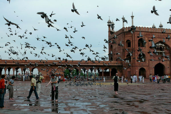 De Jama Masjid in Delhi