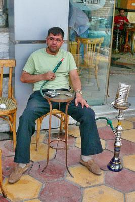 Een tijdverdrijf voor veel Jordaniërs: de waterpijp