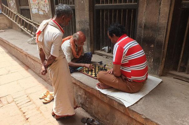 Schaken op 'n matje; schaak mat.