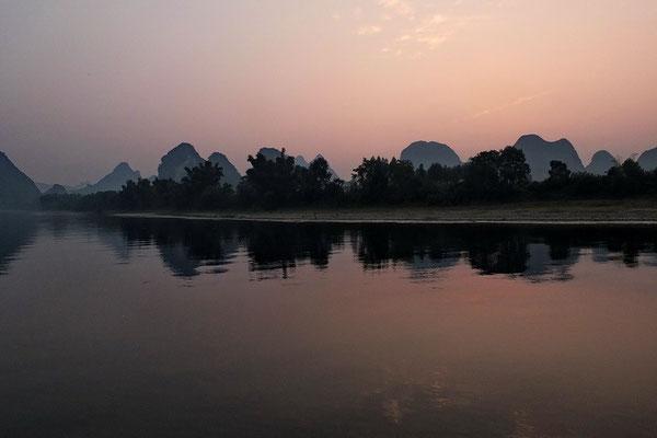 Cuise op de Li rivier