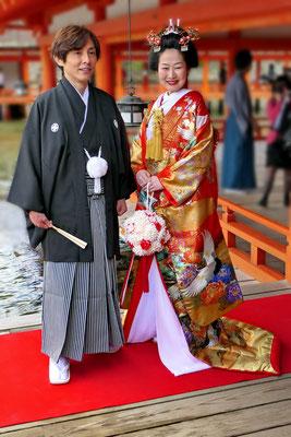 Japans bruidspaar