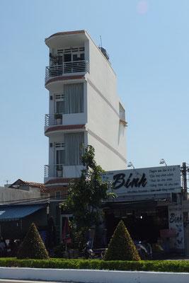Vietnamse huizen zijn hoog, lang en smal: je betaald alleen belasting voor de breedte van je huis!