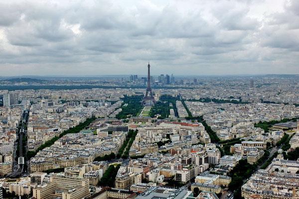 Uitzicht vanaf de Tour Montparnasse