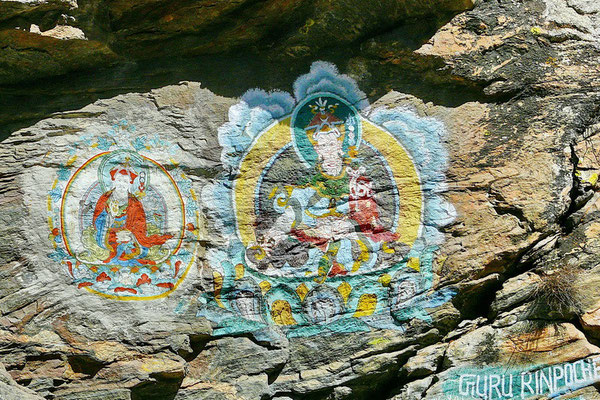 Graffiti op z'n Nepalees