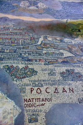 Een mozaïek uit de 6de eeuw