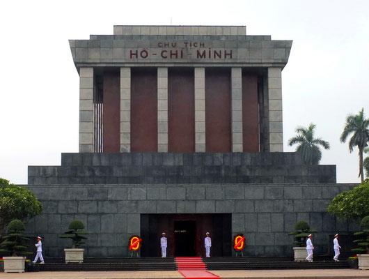 Het mausoleum van Ho Chi Min