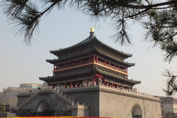 De klokkentoren van Xi'an