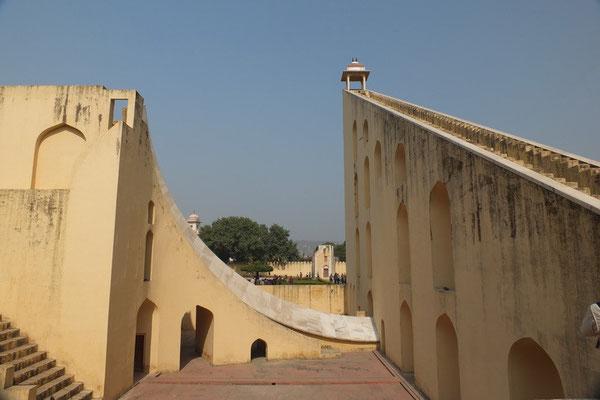 De Yanter manter (astronomisch observatorium) in Agra