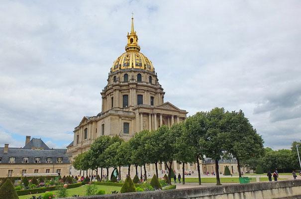 Dôme des invalide, de begraafplaats van Napoleon Bonaparte