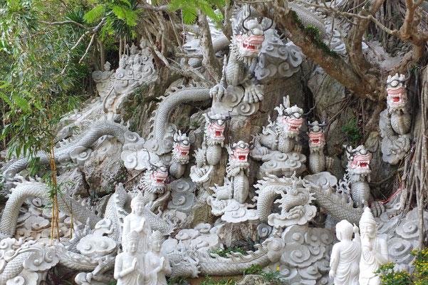 Sculpturen in the marble mountains