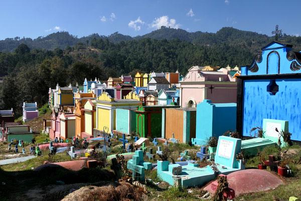 Kerkhof van Chichicastenango