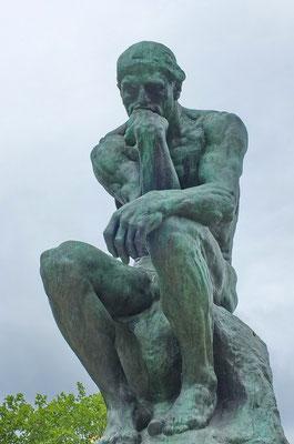 """De """"Denker"""" van Rodin"""