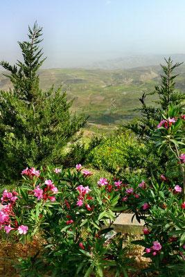 Mount Nebo, de plek waar Mozes het beloofde land zag en waar hij begraven ligt.