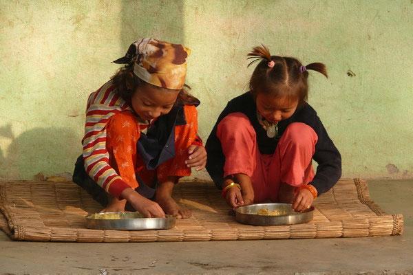 Nepalees ontbijt