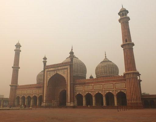 De Jama Masjid, de grootste moskee van India