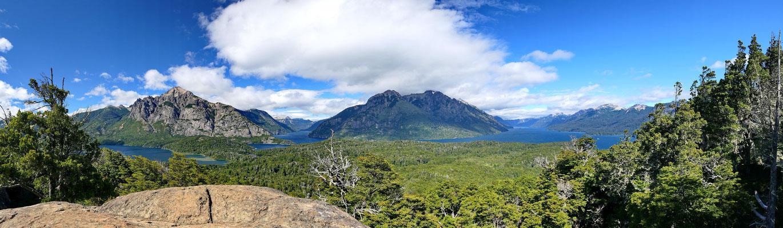 Nahuel Huapi meer bij Bariloche