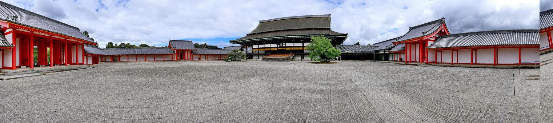 Het keizerlijk paleis in Kyoto