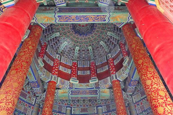 Interieur van Tempel van de hemel