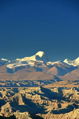 De Nanda Devi, de hoogste berg van India. 7816 m.